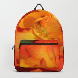 Orange Flower Backpack