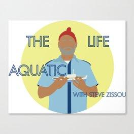 the life aquatic with steve zissou Canvas Print