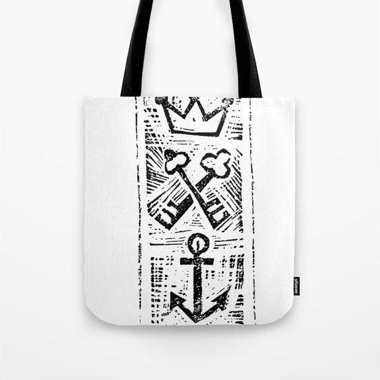 Crown Key & Anchor Tote Bag