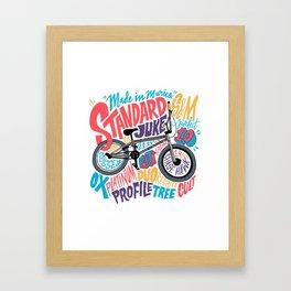 Standard Juke v.2 Framed Art Print