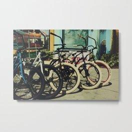 Bike Rentals Metal Print