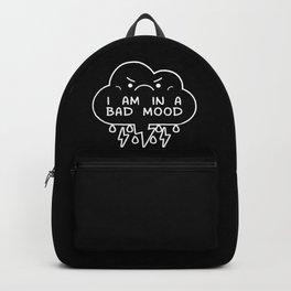 I Am In A Bad Mood Backpack