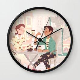 Coffee Date Wall Clock