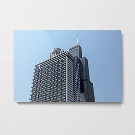 The City of Broad Shoulders Metal Print