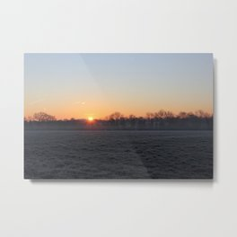 Fosty Sunrise Metal Print