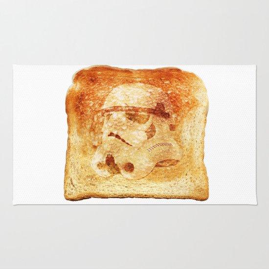Stormtrooper Toast Rug