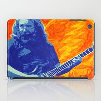 grateful dead iPad Cases featuring Jerry Garcia - The Grateful Dead by Tipsy Monkey