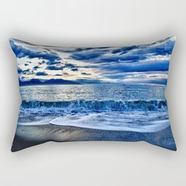 Sunrise over the South Pacific Rectangular Pillow