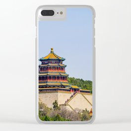 Tower of Buddhist Incense Clear iPhone Case