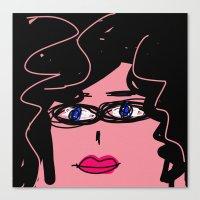 ursula Canvas Prints featuring Ursula by Rimadi
