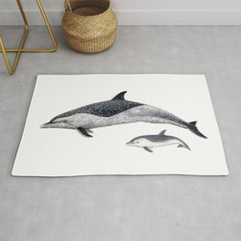 Pantropical spotted dolphin Rug