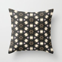 Kaleidoscope dreams Throw Pillow