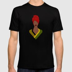 Erykah Mens Fitted Tee Black MEDIUM