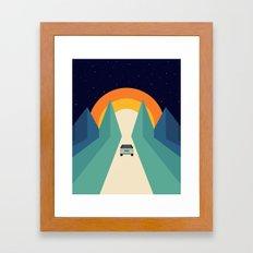 Wonderful Trip Framed Art Print