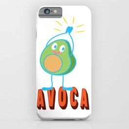 Bravo Applause Avocado Funny Lecture Gift iPhone Case