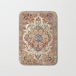 Ferahan Arak  Antique West Persian Rug Print Bath Mat