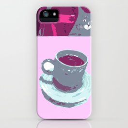 Coffee with Henry #6 iPhone Case
