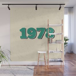 1978 Wall Mural