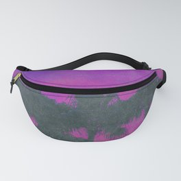 80s Tropical Vibes Fanny Pack
