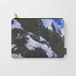 Snowy Cliffs Carry-All Pouch