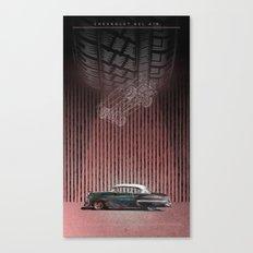 CHEVROLET BEL AIR Canvas Print