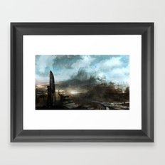Daedalus Construction Yards Framed Art Print