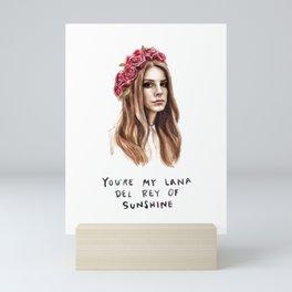 Lana Music Poster Art Print03 Mini Art Print