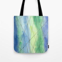 Abstract, Watercolour Tote Bag