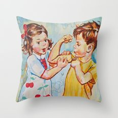 Childrens  Throw Pillow