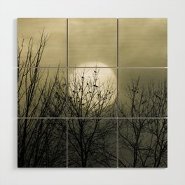 Winter Into Spring Wood Wall Art