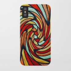 chromatic swirl iPhone X Slim Case
