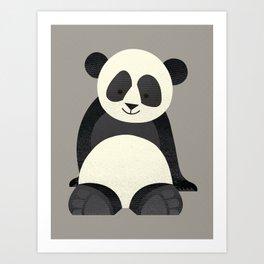 Whimsy Giant Panda Art Print
