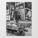 Times Square II (B&W widescreen) by raywarrenphoto