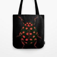 Insecte rouge et noir colors fashion Jacob's Paris Tote Bag