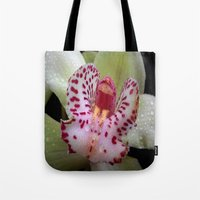 orchid Tote Bags featuring Orchid by Vitta