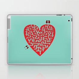 Love Maze Laptop & iPad Skin