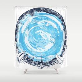 Paronamic NZ Shower Curtain