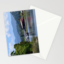 around the river bend Stationery Cards