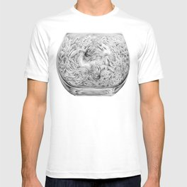 Two Lost Souls Swimming In A Fish Bowl T-shirt