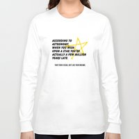 astronomy Long Sleeve T-shirts featuring According to Astronomy by Spooky Dooky
