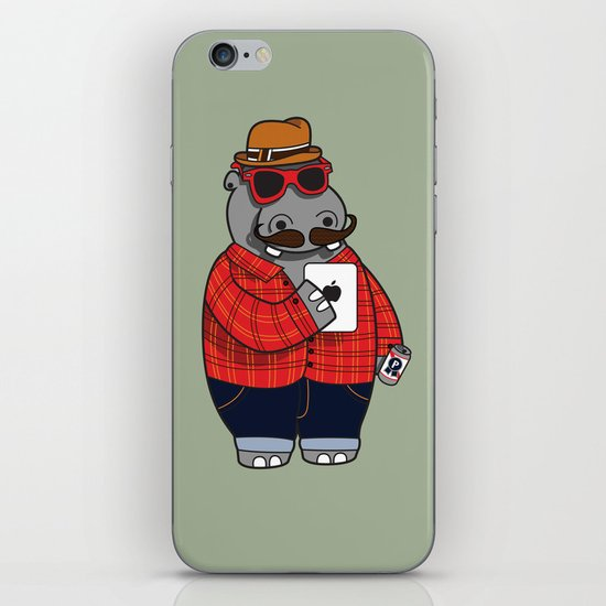 Hipposter iPhone & iPod Skin