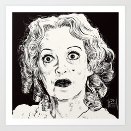 Bette Davis/Baby Jane Art Print