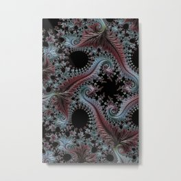 Intricate Fractal Metal Print