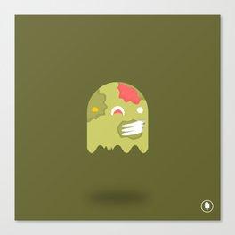 Zom-Boo Canvas Print