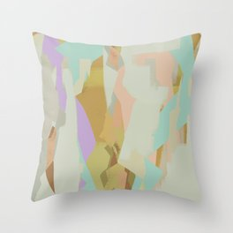 Abstract Painting No. 21 Throw Pillow