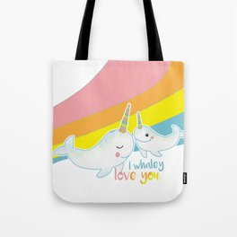 I Whaley love you. Tote Bag