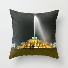 Fountain #1 Small Throw Pillow