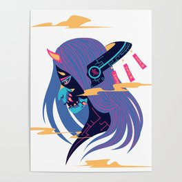 Cyber Oni Poster
