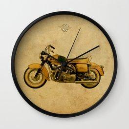 Ducati Apollo 1963 Wall Clock