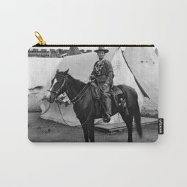 Calamity Jane on Horseback - 1901 Carry-All Pouch
